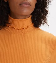 Odd Molly - Decisionmaker L/S Top - GOLDEN OCHRE