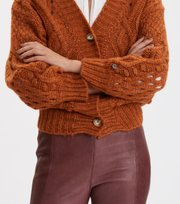 Odd Molly - Bossbabe Cardigan - GOLDEN OCHRE
