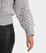 Odd Molly - Bossbabe Cardigan - LIGHT GREY MELANGE