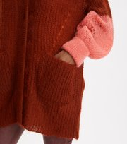 Odd Molly - Savage Cardigan - RUSSET BROWN