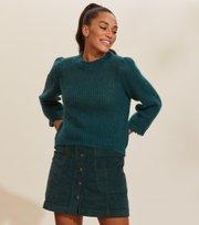 Odd Molly - Savage Sweater - BLUE CORAL