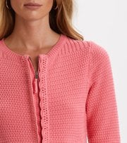 Odd Molly - I Speak Heart Cardigan - SPARKLING PINK