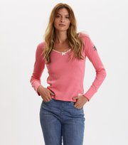 Odd Molly - Tiny Miracle L/S Top - SPARKLING PINK