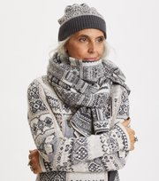 Odd Molly - Neck Buddy Scarf - GREY MELANGE