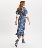 Odd Molly - Belladonna Dress - DARK BLUE
