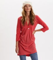 Odd Molly - Above And Beyond Dress - RED RASPBERRY