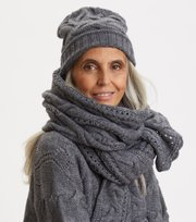 Odd Molly - Good For Everything Scarf - BOULDER GREY
