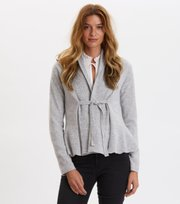 Odd Molly  - Canna cardigan - LIGHT GREY MELANGE