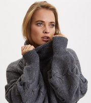 Odd Molly - Good For Everything Turtleneck - BOULDER GREY
