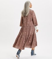 Odd Molly  - Dance More Dances Dress - TAUPE