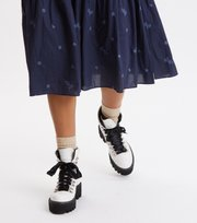 Odd Molly  - Dance More Dances Dress - DARK BLUE