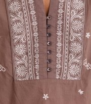 Odd Molly - Dance More Dances Blouse - TAUPE