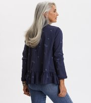 Odd Molly - Dance More Dances Blouse - DARK BLUE