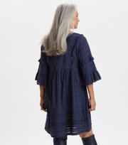 Odd Molly - Delicately Strong Dress - DARK BLUE