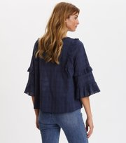 Odd Molly - Delicately Strong Blouse - DARK BLUE