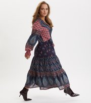Odd Molly - La Vie Boheme Dress - DARK BLUE