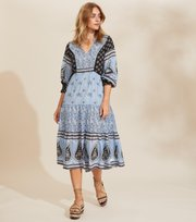 Odd Molly - La Vie Boheme Dress - SKY BLUE