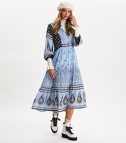 Odd Molly - La Vie Boheme Dress - SKY BLUE