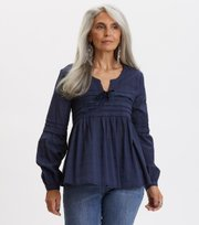 Odd Molly - Ready To Go Blouse - DARK BLUE