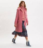 Odd Molly - Wool Hello There Coat - GLOWY PINK