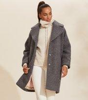 Odd Molly  - Rare & Free Coat - ASPHALT