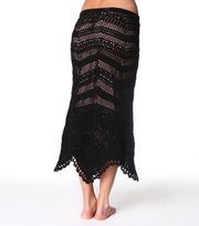Odd Molly - silky-knit midi skirt - ALMOST BLACK