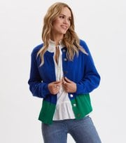 Odd Molly - All Set Cardigan - COBALT BLUE