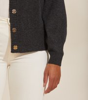 Odd Molly - All Set Cardigan - ASPHALT