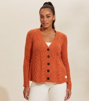 Odd Molly - Cozy Hugs Cardigan - DEEP ORANGE