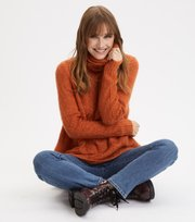 Odd Molly - Cozy Hugs Turtleneck - DEEP ORANGE