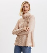 Odd Molly - Cozy Hugs Turtleneck - LIGHT POWDER