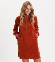Odd Molly - Unconquerable Dress - DARK ORANGE