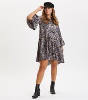 Odd Molly - Head Turner Dress - ASPHALT