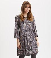 Odd Molly  - Head Turner Dress - ASPHALT