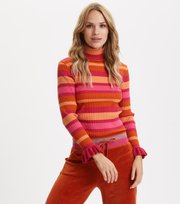 Odd Molly - Against All Odd(s) Turtleneck - MULTI PINK