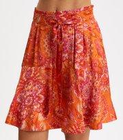 Odd Molly  - Head Turner Skirt - PUMPKIN ORANGE