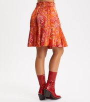 Odd Molly - Head Turner Skirt - PUMPKIN ORANGE