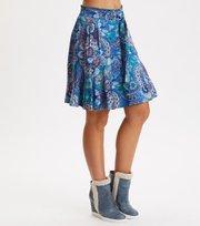 Odd Molly  - Head Turner Skirt - WASHED COBALT