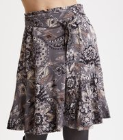 Odd Molly - Head Turner Skirt - ASPHALT