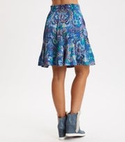 Odd Molly - Head Turner Skirt - WASHED COBALT