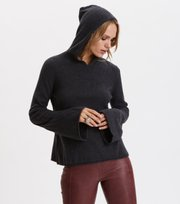 Odd Molly - All Set Hood Sweater - ASPHALT