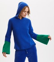 Odd Molly - All Set Hood Sweater - COBALT BLUE