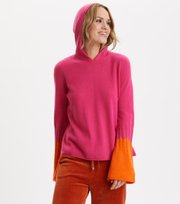 Odd Molly - All Set Hood Sweater - HOT PINK