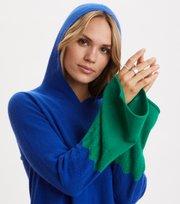 Odd Molly  - All Set Hood Sweater - COBALT BLUE