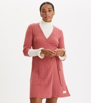 Odd Molly - Wrap Up & Go Dress - DUSTY STRAWBERRY