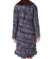 Odd Molly - mercedario rugs coat - DARK INDIGO