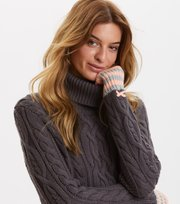 Odd Molly - Majestic Turtleneck - VINTAGE DARK GREY