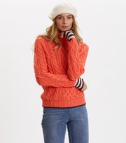 Odd Molly - Majestic Turtleneck - LOVELY CORAL