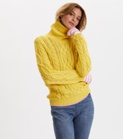 Odd Molly  - Majestic Turtleneck - YELLOW