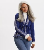 Odd Molly - Canna Cardigan - NIGHTFALL BLUE
